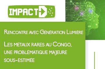 Les métaux rares au Congo, une problématique majeure sous estimée